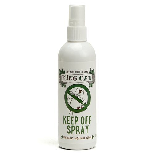 King Catnip Keep Off Spray Natural Indoor Cat Repellent Deterrent, 175 ml