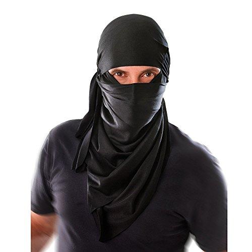 1Ninja Kapuze, eine Größe (Erwachsene Weibliche Ninja Kostüme)