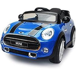Jamara Mini Cooper Alimentado con batería Coche - juguetes de montar (400 mAh, 12 V, 620 mm, 1100 mm, 510 mm, 14,1 kg)