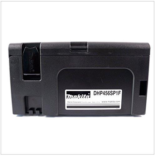 Makita Makpac Gr. 2 Transportbox und Werkzeugkiste — schwarz — - 5