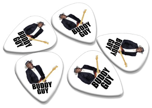 Buddy Guy 5 X Loose Gitarre Picks Band Plektrons (Buddy Guy-guitar Pick)