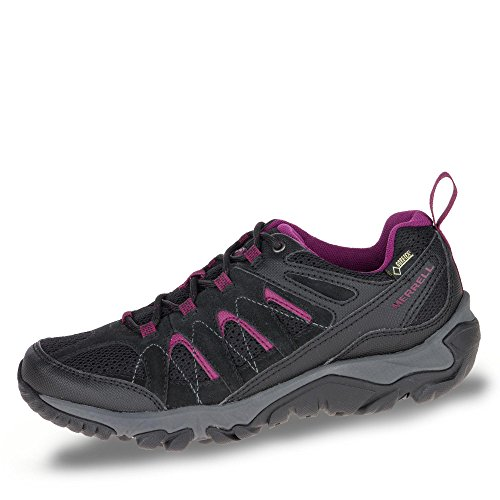 Chaussures De Randonnée Merrell Outmost Vent Gtx W Noir / Rose