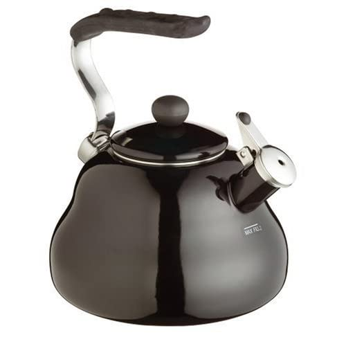 41%2BNjtaRY4L. SS500  - KitchenCraft Le'Xpress Induction-Safe Whistling Stovetop Kettle, 2 Litres (3.5 Pints) - Midnight Black
