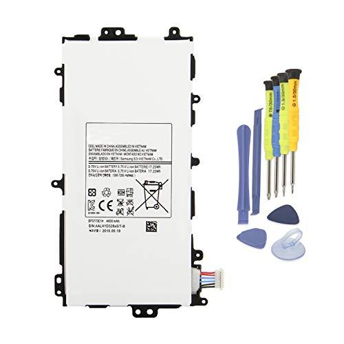 K KYUER 3.75V 4600mAh SP3770E1H Tablet Batería Samsung
