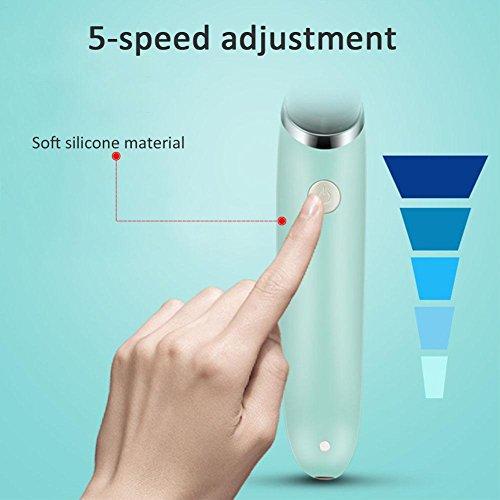 Waroomss Elektrischer Baby Nasensauger Safe Hygienischer Ruhiger Justierbarer USB Aufladungs Nasen Reiniger mit 2 Größen der Nasenspitzen und des Oralrot-Saugers für Neugeborene und Babys - 3
