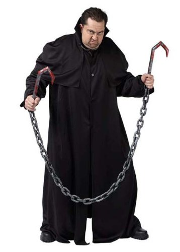 Arma de cadenas y ganchos de Halloween