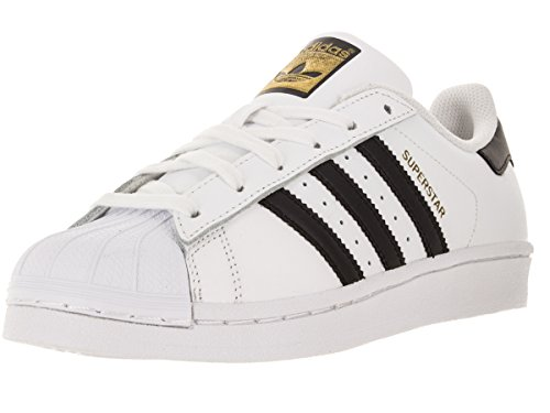 adidas Originals Superstar J Casual Low-Cut Basketball Sneaker (Big Kid),White/Black/White,6 M US Big Kid  available at amazon for Rs.16251