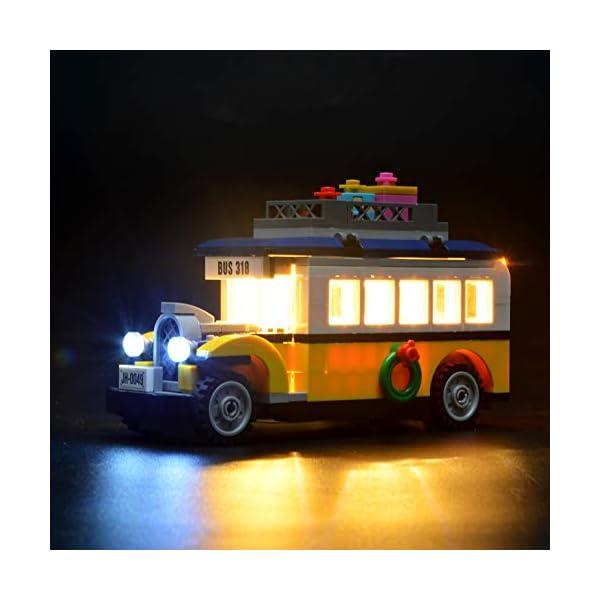 LIGHTAILING Set di Luci per (Creator Expert Stazione ferroviaria Invernale) Modello da Costruire - Kit Luce LED… 4 spesavip