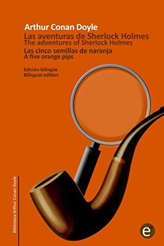las-cinco-semillas-de-naranja-the-five-orange-pips-edicion-bilingue-bilingual-edition-biblioteca-cla