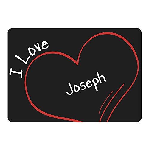 tappetino per mouse Modern I Love Joseph NERO