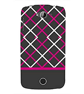 Laser Pattern Design 3D Hard Polycarbonate Designer Back Case Cover for Acer Liquid Zade Z530 : Acer Liquid Zade Z530S