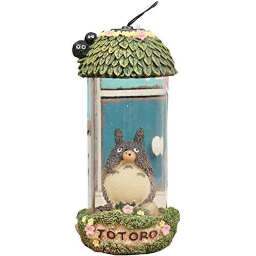 Totoro Nachtlicht Tischlampe Wind Valley Dragon Cat Tragbare Lichter Home Geschenk Cartoon Nachtlichter Dekorationen Student Geschenke,B