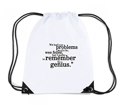 t-shirtshock-backpack-budget-gymsac-wc1073-sir-matt-busby-best-genius-quote-tshirt-design-size-capac