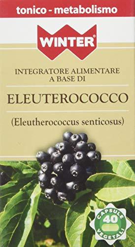 Winter Eleuterococco Vegetali - 1 x 40 Capsule