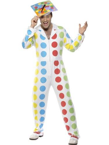 Smiffy's - Twister Partyspiel Twisterkostüm Gesellschaftsspiel Kostüm Anzug Kostü