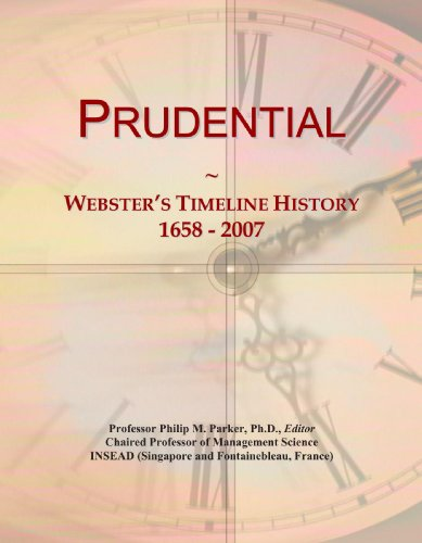 prudential-websters-timeline-history-1658-2007