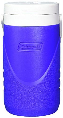 Coleman 3000001016 Independiente Azul, Color blanco enfriador de bebida -...