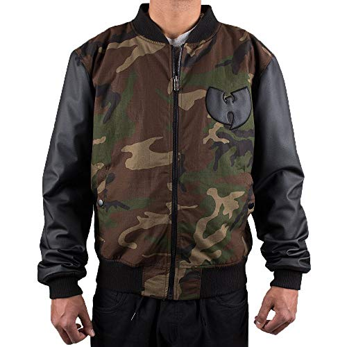 Wu Wear - Wu Tang Clan- Protect Ya Neck Jacket- Wu-Tang Clan Größe S, Farbe Camouflage (Wu Wear Jacke)