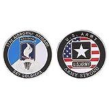 Amarzk Gedenkmünze US Army Airborne Brigade Marine Soldat Kollektion Souvenir