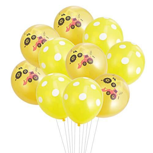 TOYANDONA BAU Geburtstag Dekoration Party Supplies Fahrzeug Party Favors 10st