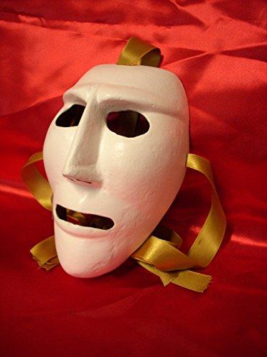 Satodà - issohadores (1di3): maschera del carnevale di mamoiada (sardegna). artigianale, legno e cuoio