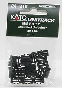 Kato 7078508 Unitrack Gleis - Aislante 20 Piezas, UniJoiner