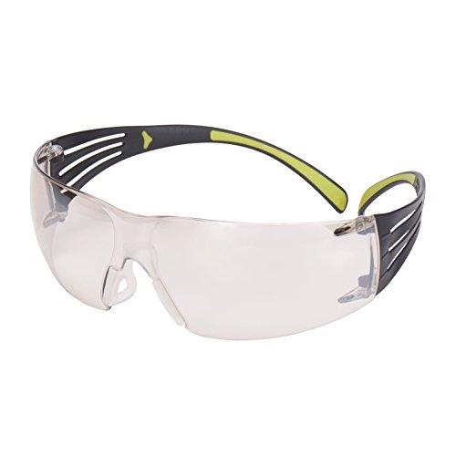 3M Schutzbrille SecureFit sf410as Sicherheit Gläser, kratzfest, I/O Spiegel Objektiv
