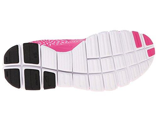 Nike W Nk Free 5.0 V4 Ns Pt, sneaker femme Hot Pink/White/Hot Pink
