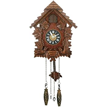 Traditional cuckoo wall quartz clock by widdop bingham kitchen home - Cuckoo pendulum wall clock ...