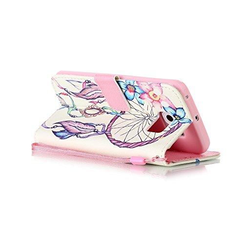 Sunroyal Etui Lederhülle für Samsung Galaxy S6 Edge Diamant Bling 3D Rhinestone Book Type Schutzhülle Magnetverschluss PU Leder Hülle Flip Tasche Wallet Case Cover HandyHülle Bookstyle Brieftasche mit Pattern 5