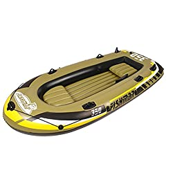 NUOAO 2/3/4 Person Inflatable Raft Boat Set Kayak Fishing Boat With Pump And Oars