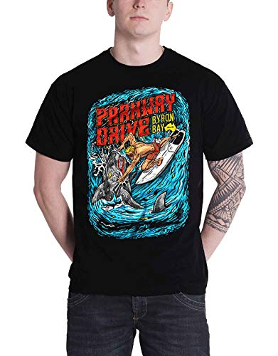 Parkway Drive Shark Punch band logo Nue Herren Schwarz T Shirt all sizes