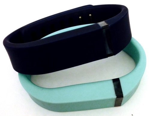 ! Small S 1pc Teal (Blue/Green) 1pc Navy (Blue) Replacement Bands + 1pc Free Small Grey Band With Clasp for Fitbit FLEX Only /No tracker/ Wireless Activity Bracelet Sport Wristband Fit Bit Flex Bracelet Sport Arm Band Armband by Pl
