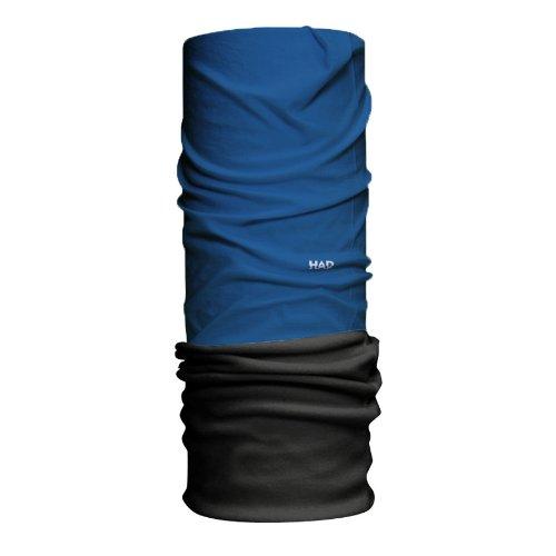 HAD Head Accessoires Solid Funktionstuch, Himmel - Fleece: Schwarz, one size - Pro Style Wärmer