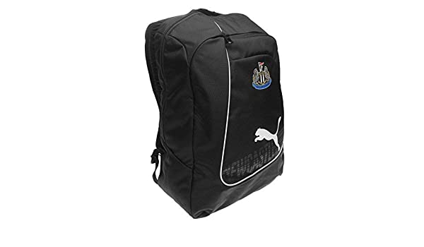 7bc8e1ec97 Puma Newcastle United Backpack Black White Football Soccer Bag Holdall  Rucksack H 47 x W 32 x D 15 (cm)  Amazon.co.uk  Luggage