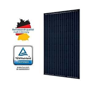 Panneau solaire 285w mono solarworld - black