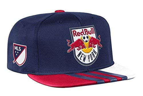 New York Red Bulls Adidas MLS 2017 Authentic Team Performance Snap Back Hat Hut