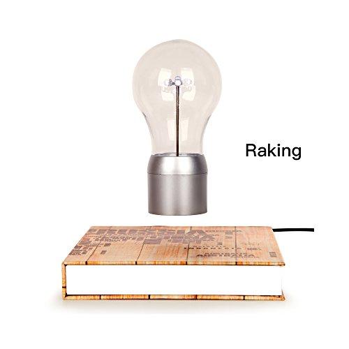 rastrellare alta magico Levitating Lampadina LED/lampada da tavolo/Luce Notturna/decorazione desktop con tecnologia magnetica galleggiante fluttuante, per decorare Ufficio, soggiorno, studio