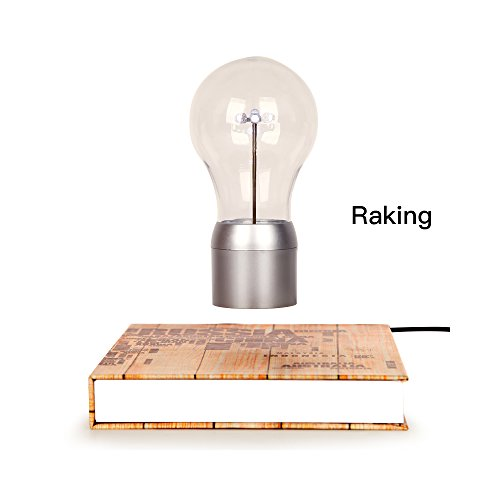 Levitación. Mágico de alta gama LED bombilla/lámpara de mesa/luz nocturna/decoración de escritorio con Levitación Magnética Flotante tecnología, para decorar oficina,...