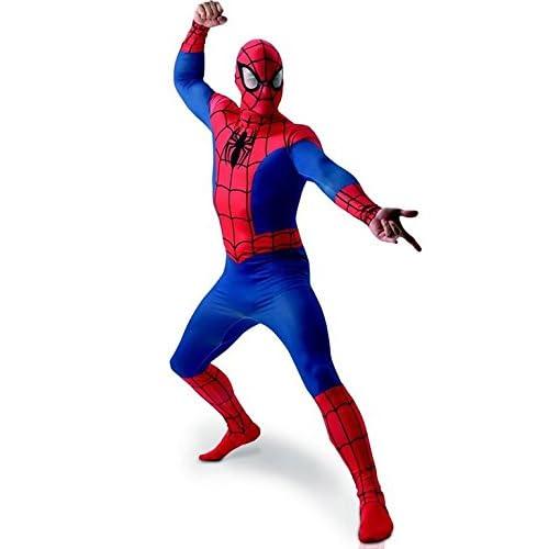 MARVEL ~ Spider-Man - adulto del vestido de lujo del traje de licencia Con separada Redecilla Nuevo 2015 Tamaño X-Large… 4