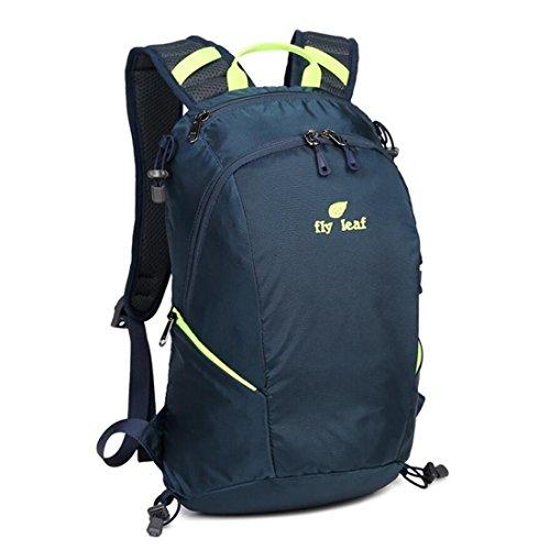 Z&N Backpack Nuova Capienza 16-20L Borsa A Tracolla Esterna Nylon Impermeabile Zaino Da Ricreazione Alpinismo Unisex Borsa Studentesca Borsa Da Viaggio Sacchetto Di Stoccaggio C 16-20L B