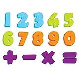 Knorrtoys 37023 - ESCABBO EVA - Badesticker Zahlen 0-9 mit Sonderzeichen