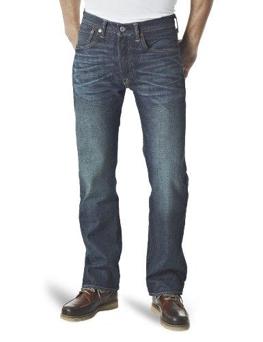 Levi's Herren Jeans Normaler Bund Levi's 501 Button Fly 00501-1316 WATERLESS,  Blau (Sandy 1316) Gr. 33/36