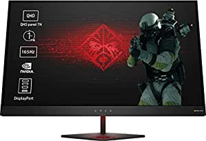 OMEN by HP Omen 27 Monitor Gaming, QHD, 2560x1440, G-Sync, Retroilluminazione LED, 2ms, Nero