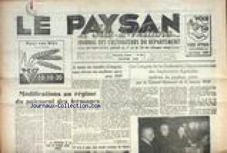 PAySAN D'ILLE ET VILAINE (LE) [No 180] du 01/02/1959 - MODIFICATIONS AU REGIME DU PAIEMENT DES FERMAGES - LE CONGRES DE LA FEDERATION DEPARTEMANTALE DES EXPLOITANTS AGRICOLES CONFIRME LES POSITIONS PRISES PAR LE CONSEIL NATIONAL. par Collectif