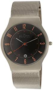 Skagen Mens Watch 233XLTTMO with Grey Stainless Steel Bracelet and Grey Dial