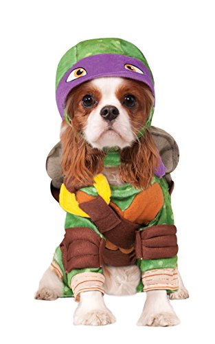 (Rubie 's Offizielles Pet Dog Kostüm, Donatello, Teenage Mutant Ninja Turtles – Medium)