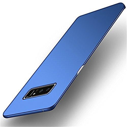 Funda Compatible con Samsung Galaxy Note 8 Carcasa Ultra Slim PC Funda Anti-Rasguño y Resistente Huellas Dactilares Totalmente Protectora Caso para Case Samsung Galaxy Note 8 (Azul)