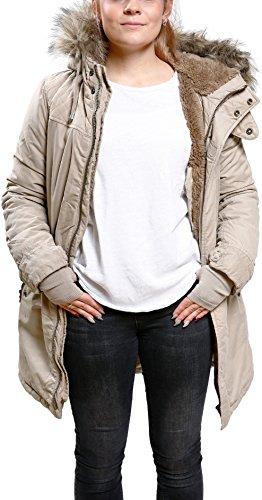 khujo Damen Jacke Kourtney Beige