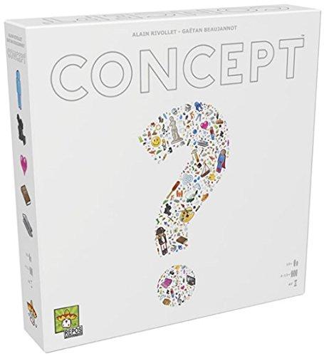 Concept - Juego de tablero, color blanco (Repos Production CON01ES)